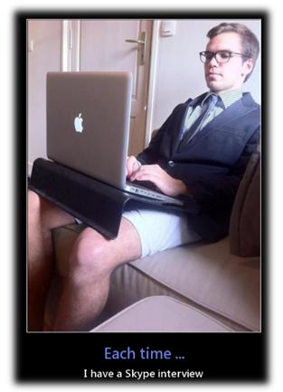 Интервью через скайп