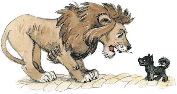 Лев Смелость
