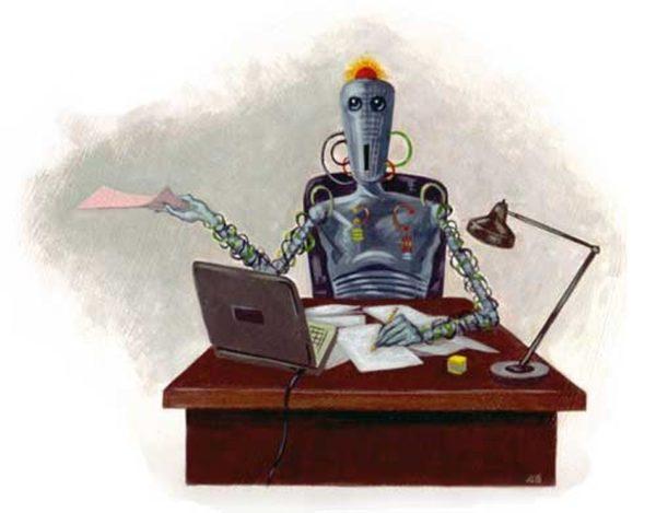 Робот переводит тексты