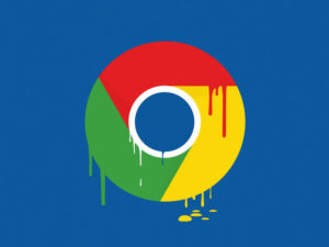 Иконка Гугл потекла