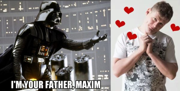 im your father maxim