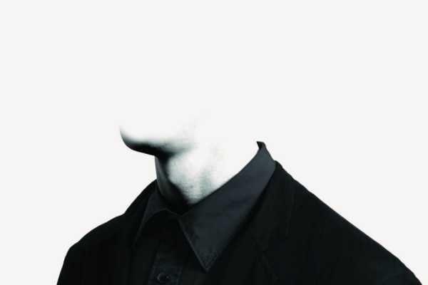 пол лица скрыто