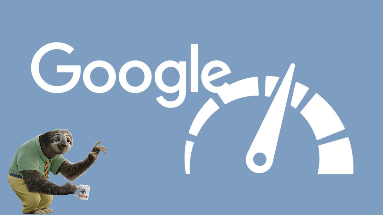 Google и ленивец