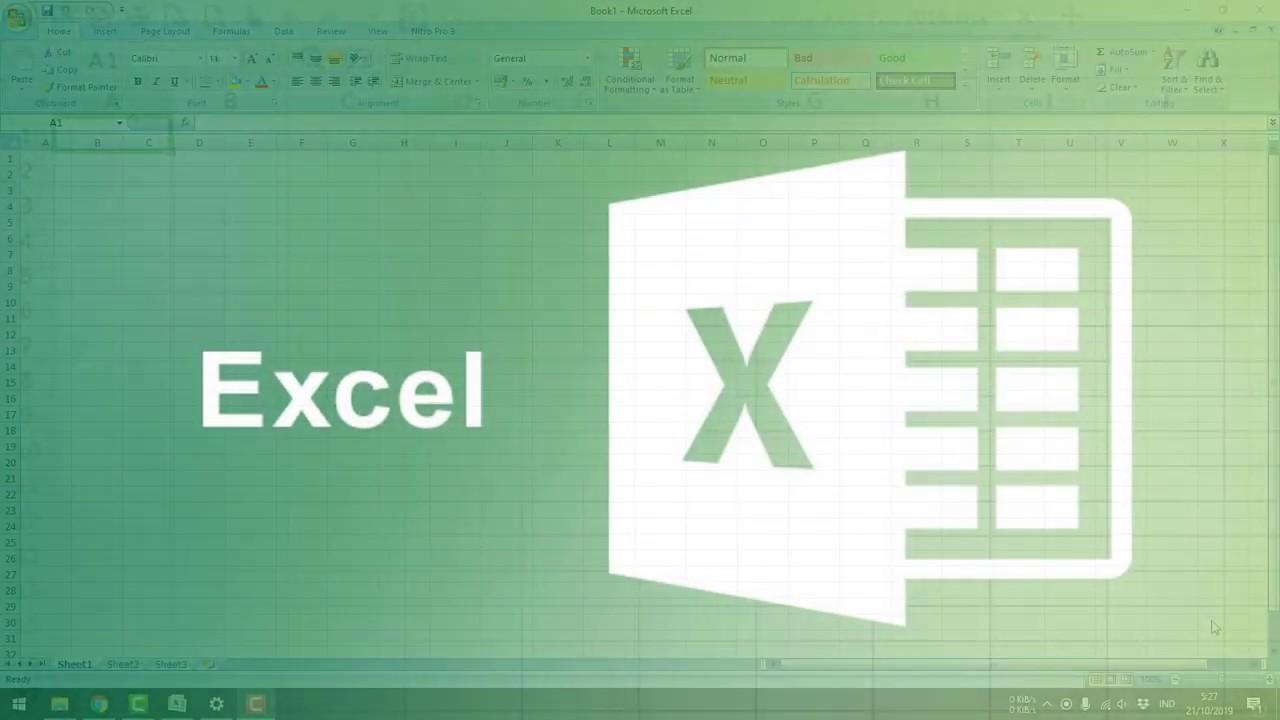 Удалить пустые строки Excel
