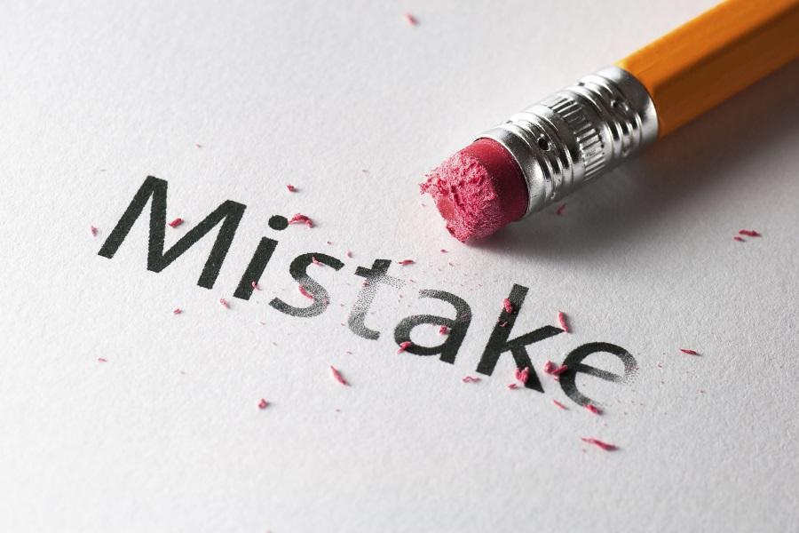 Mistake карандаш